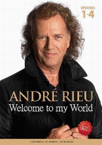 Cover André Rieu - Welcome To My World - Episodes 1-4 [DVD]